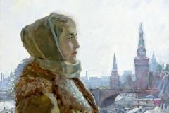 Москвичка.-х.м.-65х75.-2005-г.