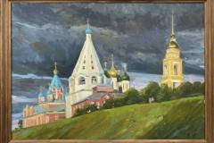 Лето-в-Коломне-50х70-холст-масло-2019-г.