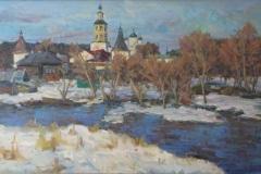 Пафнутьев-монастырь.-2009-г.-65х120-холст-масло
