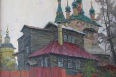 Серпухов.-Дом-священника-2013-г.-70х80-холст-масло