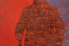 Ирина Ива. Десантник люфтваффе, нижний чин... #Реконструктор с неизвестным именем... Чтобы помнить... Кровь за кровь...Х., акр., м., 100х80, 2020г.