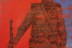 Ирина Ива. Краснофлотец, боец морской пехоты... #Реконструктор Сергей Анатольевич Науменко... Чтобы помнить... Кровь за кровь...Х., акр., м., 100х80, 2020г.
