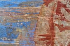 Ирина Ива. Реконструкторы... Чтобы помнить... Высота Горная, освобождение Севастополя, май 1944г. Диптих. Прав. ч. Х., акр., м., 80х100, 80х100, 2020г.