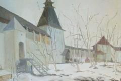Лотова-Варвара.-В-Боровске-снег.90Х80