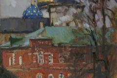 Троице-Сергиева-Лавра.-Осень-2011-год-70х55-см.-х.-м.