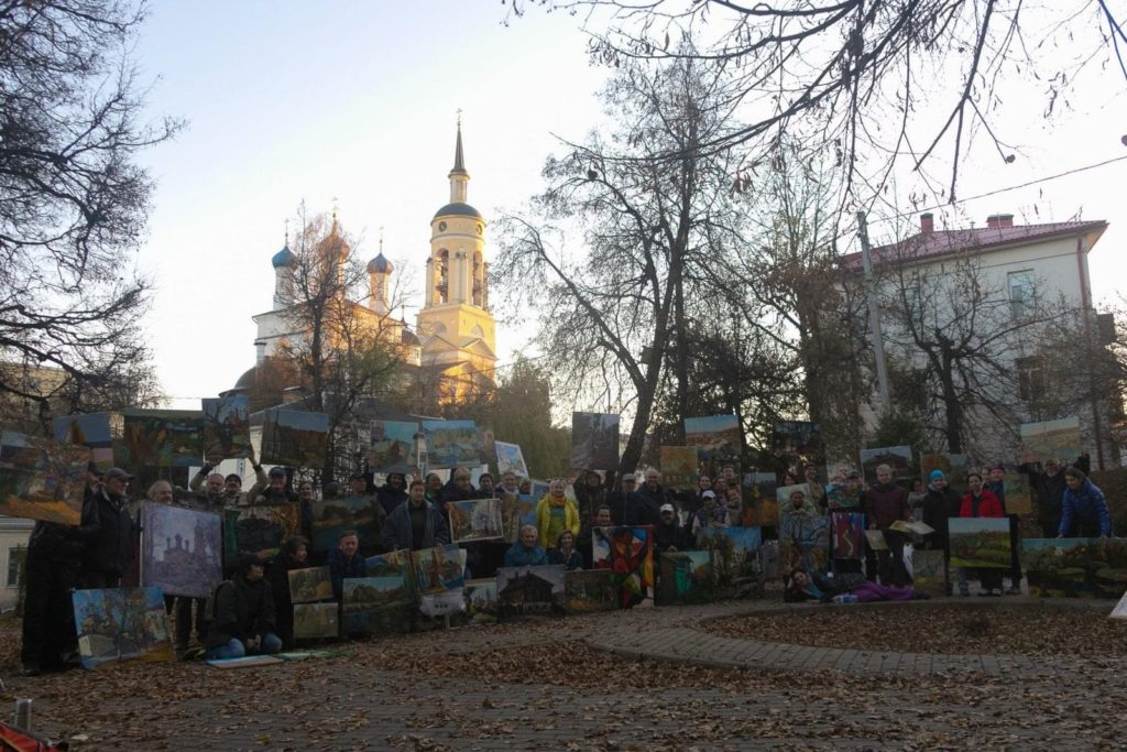 Солнечный день в Боровске